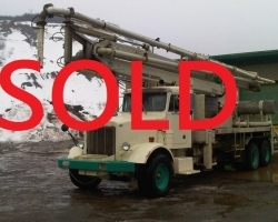 2001 Boom with Putzmeister s-tube pump kit SOLD OCTOBER 2016