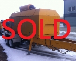 2000 Putzmeister 14000 SOLD JULY 2016 FOR $160,000 ID # 1439