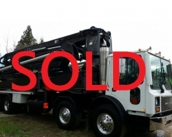 2001 42m Klein on a 2001 Mack SOLD OCTOBER 2016 FOR $155000 ID#1550