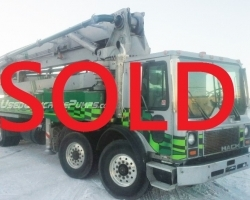 1997 43m Putzmeister on a 1997 Mack SOLD SEPTEMBER 2016 FOR $110,000 US ID#1716