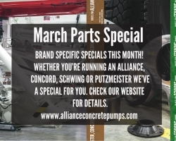 March Specials - Brand Specific Filter Purchase bonuses!