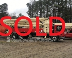 2014 Schwing 39m on a Mack SOLD SEPTEMBER 2016 ID#1764