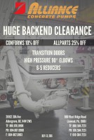 JULY PARTS SPECIAL: BACKEND CLEARANCE ID#1827