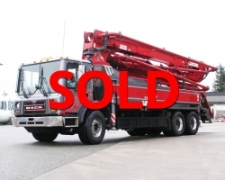 PRICE REDUCED!! 2011 36m Concord on a 2008 Mack