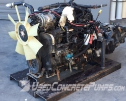 Used ISL-350-2100 2012 Cummins 8.9 L Engine ID#1876