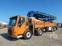 Ritchie Bros. LOT #3966 2007 43m Putzmeister on a 2007 American LaFrance