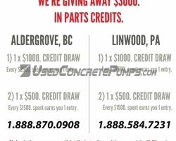 Alliance is giving away $3000 in parts credits: February 2017