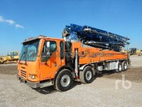 Ritchie Bros. LOT #3965 2007 43m Putzmeister on 2007 American LaFrance