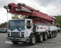 2005 52m Schwing on a 2006 Mack