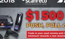 Scanreco Remote System   $1500.00 MINIMUM Trade Value