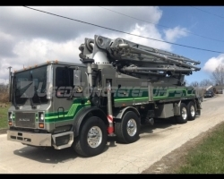 2007 Putzmeister 47m on a Mack