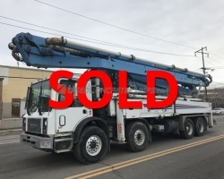 2005 47M Schwing on a Mack MR