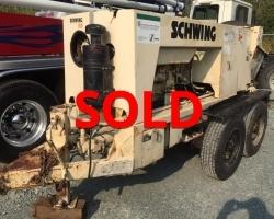 1998 Schwing 1000X Trailer Pump