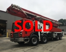 BLOW OUT PRICE!!! 2001 Putzmeister 46m