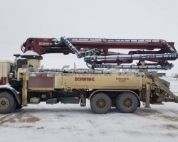 PRICE REDUCED!! 2003 Schwing 31 meter HT Telescopic Boom