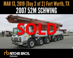 AUCTION 2007 52M Schwing