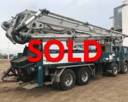 2001 Schwing 45m on a Mack