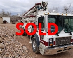 REDUCED PRICE! 2005 40m Alliance on a Mack