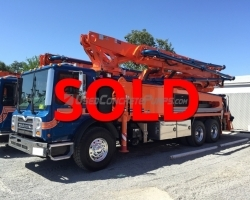 REDUCED PRICE! 2015 38-5 Putzmeister on a Mack