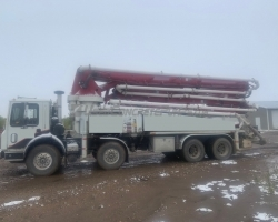 2006 41m Sermac on a Mack