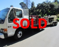 2003 Olin Pump, 1998 GMC Flatbed, Hoses and more!
