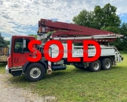 REDUCED PRICE! 1998 32m Putzmeister on a Mack