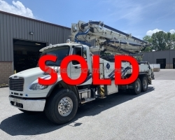 2015 32m 5 Section Alliance on a 2016 Freightliner