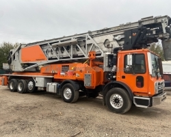 2016 Putzmeister Telebelt TB130 on a Mack