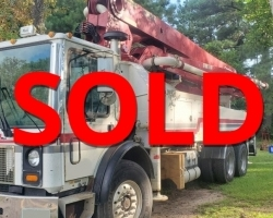 REDUCED PRICE! 2005 38m Concord on a Mack