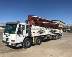 2007 52m KCP on a 2008 American LaFrance