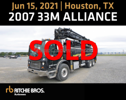 AUCTION 2007 33m Alliance